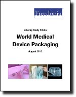 World Medical Device Packaging  - The Freedonia Group - Industry Market Research