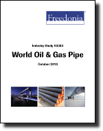 World Oil & Gas Pipe  - The Freedonia Group - Industry Market Research