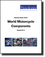 World Motorcycle Components  - The Freedonia Group - Industry Market Research