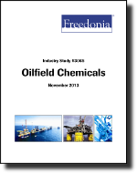 Oilfield Chemicals - The Freedonia Group - Industry Market Research