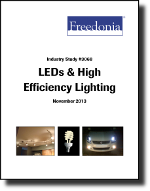 LEDs & High Efficiency Lighting - The Freedonia Group - Industry Market Research