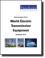 World Electric Transmission & Distribution Equipment - Demand and Sales Forecasts, Market Share, Market Size, Market Leaders
