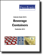 Beverage Containers - The Freedonia Group - Industry Market Research