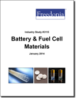 Battery & Fuel Cell Materials - The Freedonia Group - Industry Market Research