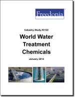 World Water Treatment Chemicals - The Freedonia Group - Industry Market Research