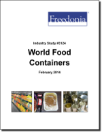 World Food Containers - The Freedonia Group - Industry Market Research