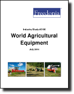 World Agricultural Equipment - The Freedonia Group - Industry Market Research