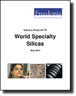 World Specialty Silicas - The Freedonia Group - Industry Market Research
