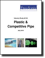 Plastic & Competitive Pipe - Demand and Sales Forecasts, Market Share, Market Size, Market Leaders