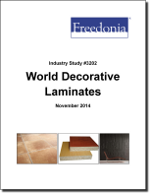 World Decorative Laminates - The Freedonia Group - Industry Market Research