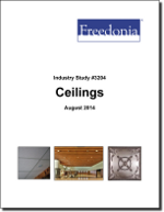 Ceilings - The Freedonia Group - Industry Market Research