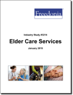 Elder Care Services - The Freedonia Group - Industry Market Research