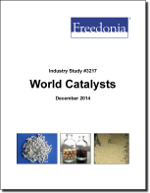World Catalysts - Demand and Sales Forecasts, Market Share, Market Size, Market Leaders