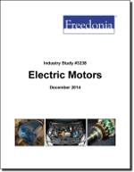 Electric Motors - Demand and Sales Forecasts, Market Share, Market Size, Market Leaders