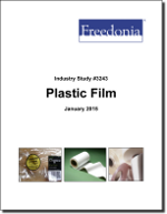 Plastic Film - Demand and Sales Forecasts, Market Share, Market Size, Market Leaders