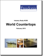 World Countertops - The Freedonia Group - Industry Market Research