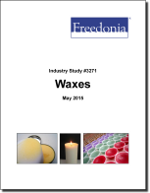 Waxes - Demand and Sales Forecasts, Market Share, Market Size, Market Leaders