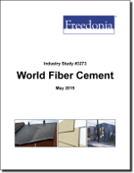World Fiber Cement - The Freedonia Group - Industry Market Research
