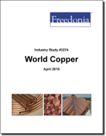 World Copper - Demand and Sales Forecasts, Market Share, Market Size, Market Leaders
