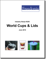World Cups & Lids - The Freedonia Group - Industry Market Research