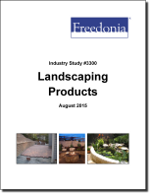 Landscaping Products - The Freedonia Group - Industry Market Research