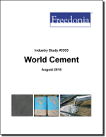 World Cement - The Freedonia Group - Industry Market Research