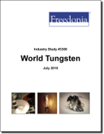 World Tungsten - Demand and Sales Forecasts, Market Share, Market Size, Market Leaders