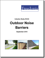 Outdoor Noise Barriers - The Freedonia Group - Industry Market Research