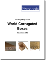World Corrugated Boxes - Demand and Sales Forecasts, Market Share, Market Size, Market Leaders