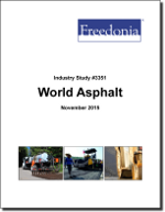 World Asphalt (Bitumen) - The Freedonia Group - Industry Market Research