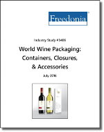 World Wine Packaging: Containers, Closures & Accessories - Demand and Sales Forecasts, Market Share, Market Size, Market Leaders