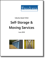 Self-Storage & Moving Services - The Freedonia Group - Industry Market Research
