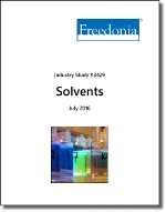 Solvents - The Freedonia Group - Industry Market Research