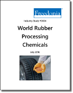 World Rubber Processing Chemicals - The Freedonia Group - Industry Market Research