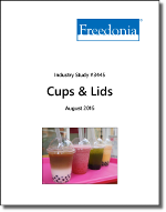 Cups & Lids - The Freedonia Group - Industry Market Research