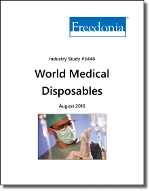 World Medical Disposables - The Freedonia Group - Industry Market Research