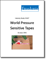 World Pressure Sensitive Tapes - The Freedonia Group - Industry Market Research