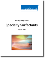 Specialty Surfactants - The Freedonia Group - Industry Market Research