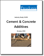 Cement & Concrete Additives - The Freedonia Group - Industry Market Research