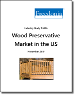 Wood Preservative Market in the US by Product, Application and Market - The Freedonia Group - Industry Market Research