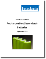 Rechargeable (Secondary) Batteries - The Freedonia Group - Industry Market Research