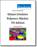 Global Emulsion Polymers Market by Product, Market and Country, 7th Edition - The Freedonia Group - Industry Market Research
