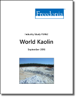 World Kaolin - Demand and Sales Forecasts, Market Share, Market Size, Market Leaders