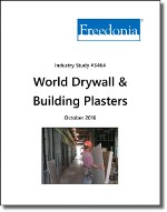 World Drywall & Building Plaster - The Freedonia Group - Industry Market Research