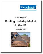Roofing Underlay Market in the US by Product, Market and Region - The Freedonia Group - Industry Market Research