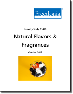 Natural Flavors & Fragrances - Demand and Sales Forecasts, Market Share, Market Size, Market Leaders