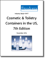 Cosmetic & Toiletry Containers in the US by Product and Market, 7th Edition - The Freedonia Group - Industry Market Research
