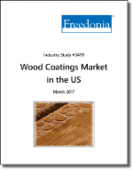 Wood Coatings Market in the US by Product, Application, Market and End Use - The Freedonia Group - Industry Market Research