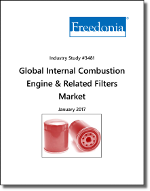 Global Internal Combustion Engine & Related Filters Market by Type, Market and Region - The Freedonia Group - Industry Market Research
