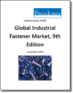 Global Industrial Fasteners by Product and Market, 9th Edition - The Freedonia Group - Industry Market Research